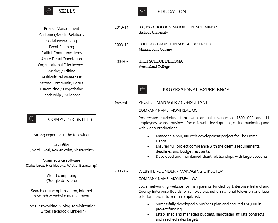 Hard and Soft Skills - Resume Writing Guide