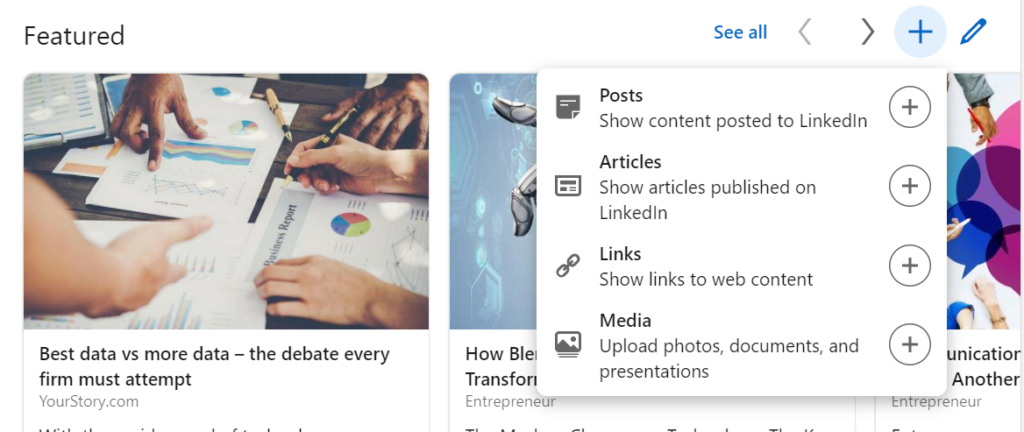 Feature Your Resume on Your LinkedIn Profile